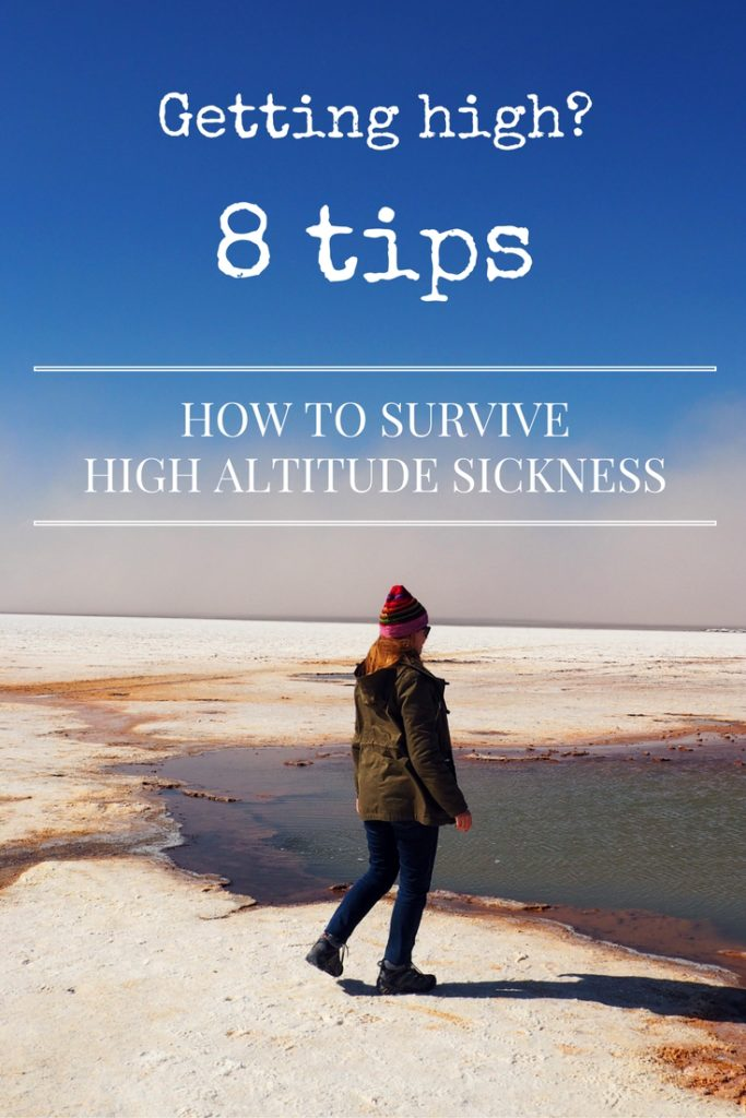 Tips for high altitude sickness