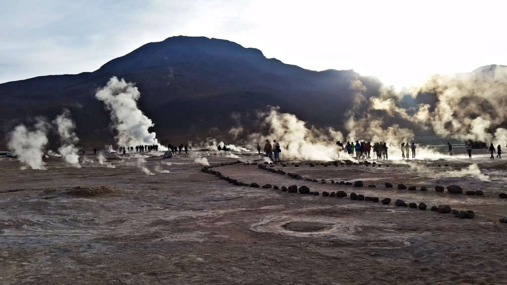 Geyseres del Tatio, Chile