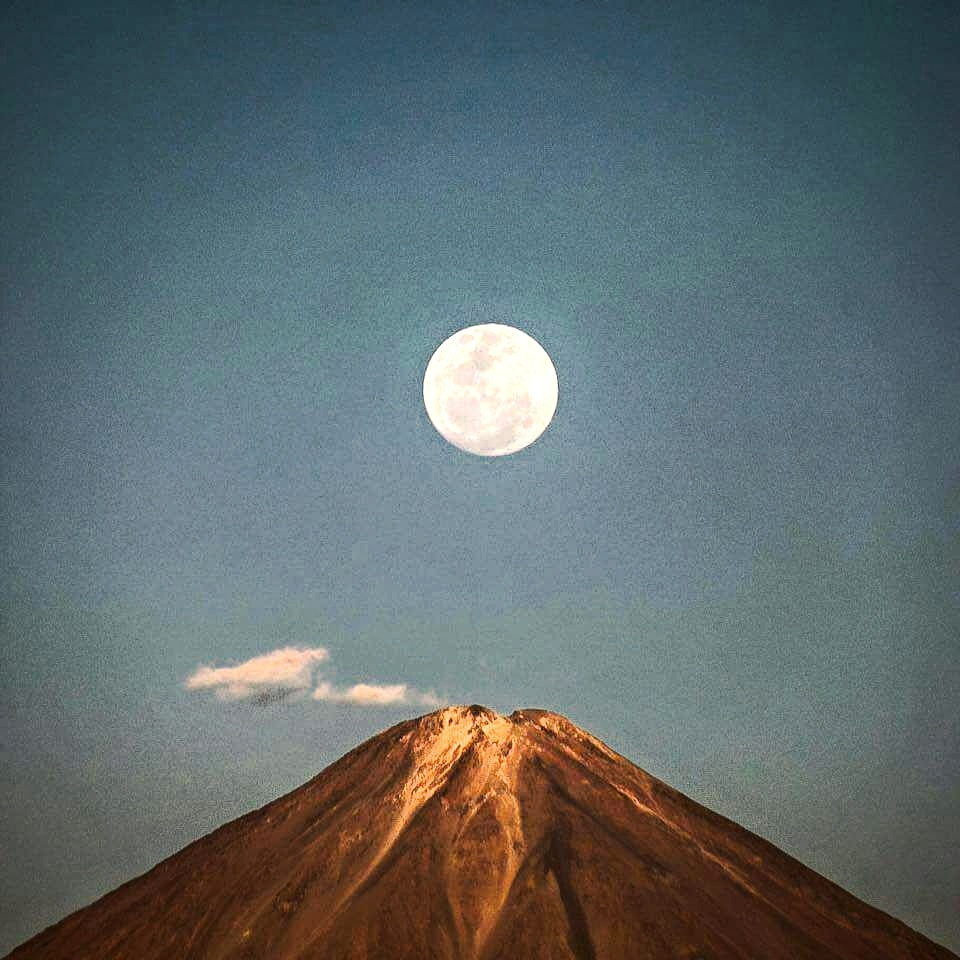 Atacama, Licancabur, Supermoon