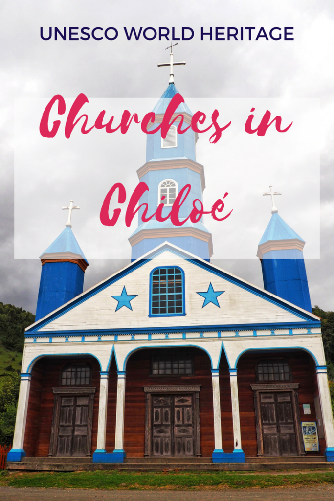 Churches in Chiloe, Chile