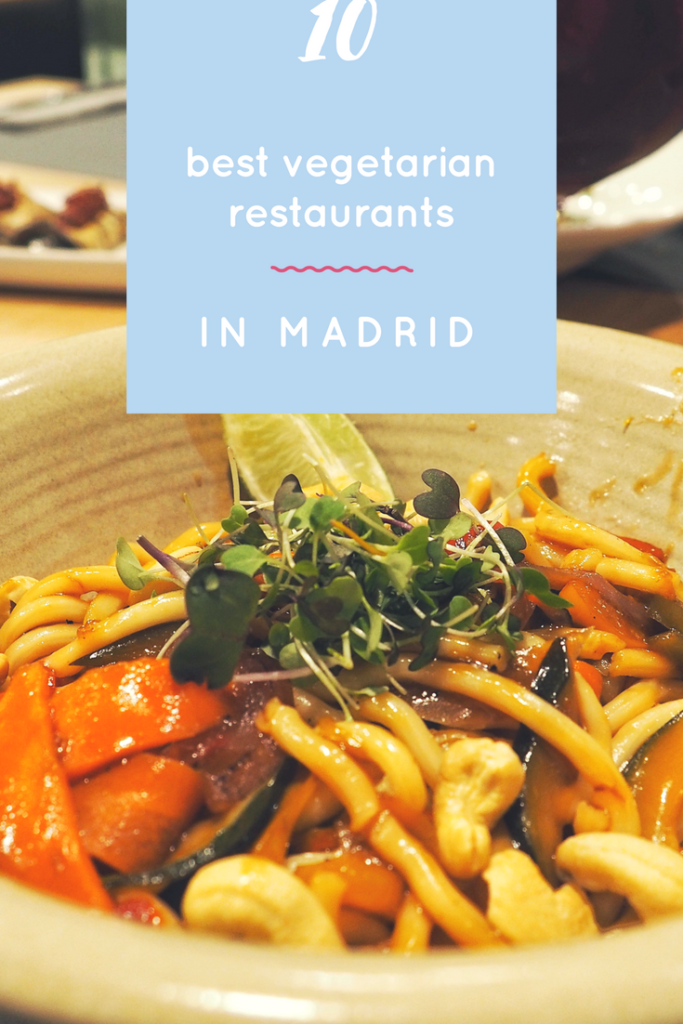 Vegetarian restaurants, Madrid